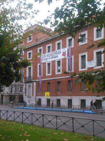 El centro social okupado La Ingobernable en Madrid